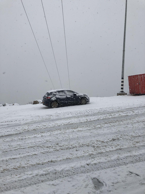 שלג במג'דל שמס