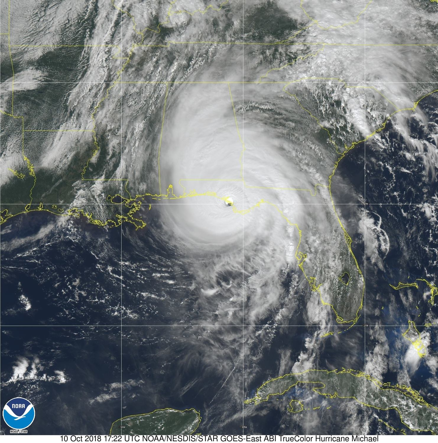 images from hurricane michael - 854×860