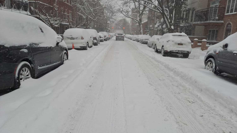 שלג בניו ג'רזי